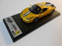 bbr models (bbrc161a) - 2014 ferrari 458 speciale a - closed roof