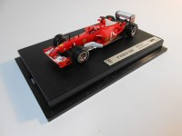 hot wheels elite (b1018) - 2003 ferrari f2003-ga