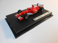 hot wheels elite (b6206) - 2004 ferrari f2004