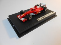 hot wheels elite (g6731) - 2002 ferrari f2002
