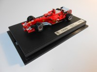 hot wheels elite (g9731) - 2005 ferrari f2005