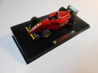 hot wheels elite (t6286) - 1995 ferrari 412 t2