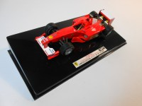 hot wheels elite (v8379) - 2000 ferrari f1-2000