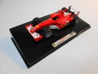 hot wheels elite (x5514) - 2003 ferrari f2003-ga