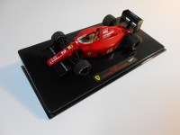 hot wheels elite (x5518) - 1990 ferrari f1-90 (641)