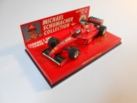 minichamps (510984333) - 1998 ferrari f300 with tower wing